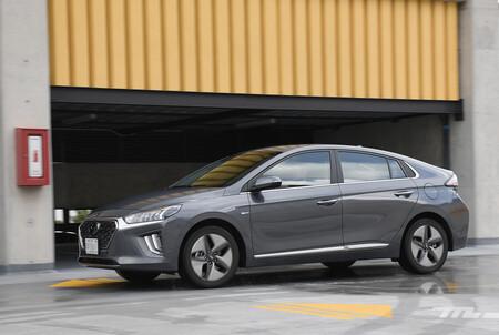 Hyundai Ioniq 2021 Hibrido Mexico Opiniones Prueba 11