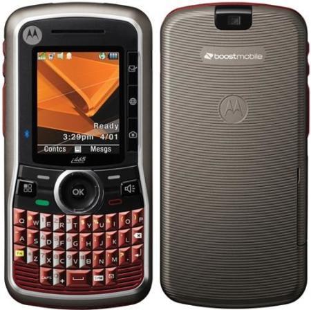 Motorola Clutch i465, un todoterreno con teclado Qwerty