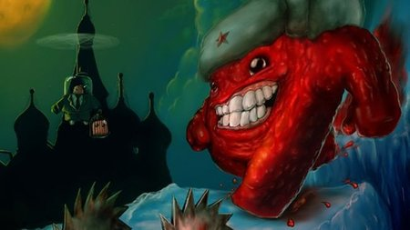 'Super Meat Boy'. Meanwhile, in Russia...