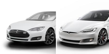 Evolución diseño coches  Tesla Models Morro