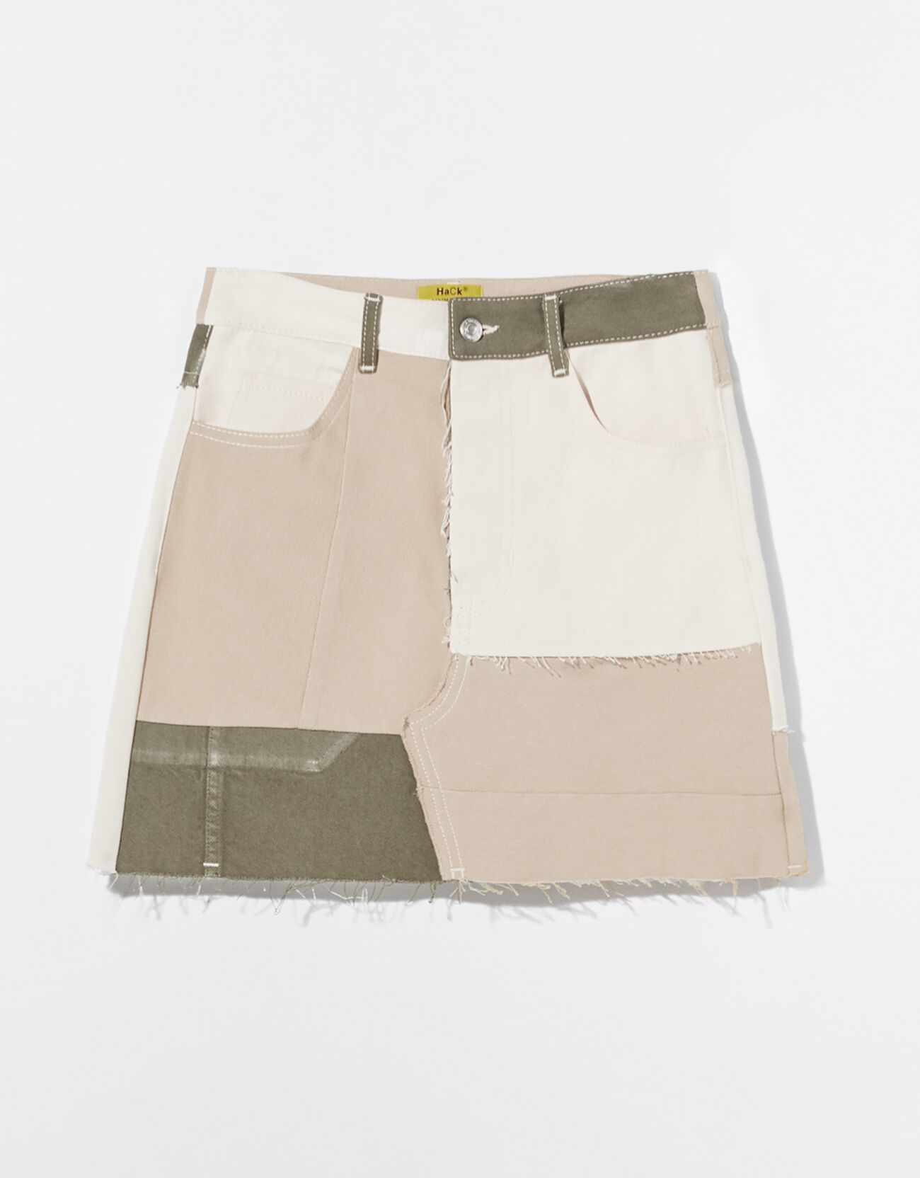 Falda mini Hack Denim color.