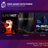 Twitch Prime también ofrecerá juegos gratis a sus suscriptores de forma mensual