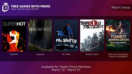 Twitch Prime Tambien Ofrecera Juegos Gratis A Sus Suscriptores De