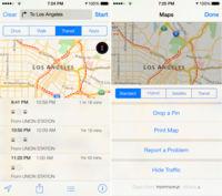 Última parada, transporte público en Mapas de iOS 9