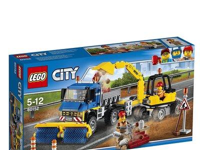 El set de Lego City con barredora y excavadora puede ser nuestro por 24,80 euros gracias a Amazon