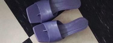 Clonados y pillados: las famosas mules de Bottega Veneta siguen triunfando en Zara (esta vez en color malva)