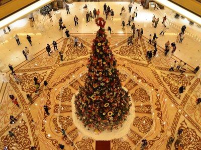 Este es el árbol de Navidad más caro del mundo