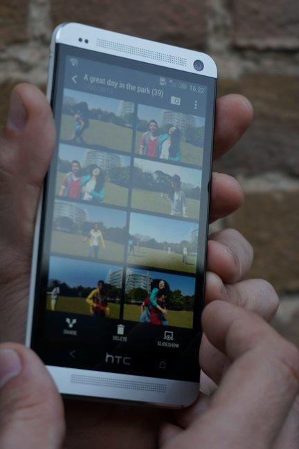 Zoe en el HTC One