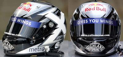 El homenaje de David Coulthard a Colin McRae