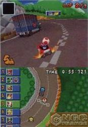 Mario Kart DS: técnica del 'snaking'