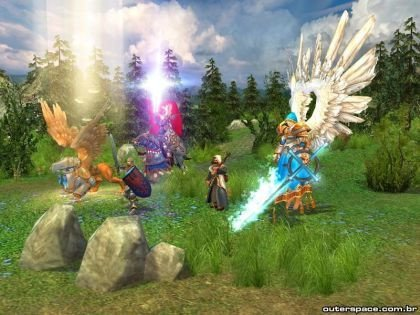 Heroes of Might and Magic V en movimiento