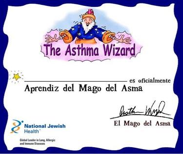 El Mago del Asma ayuda a los niños a entender la enfermedad