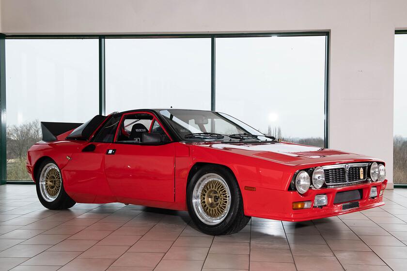 ¡Joya exclusiva a subasta! El primer prototipo del mítico Lancia 037 Rally buscará dueño este verano