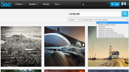 500px añade licencias Creative Commons a su catálogo