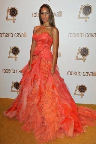 Leona Lewis Roberto Cavalli fiesta París
