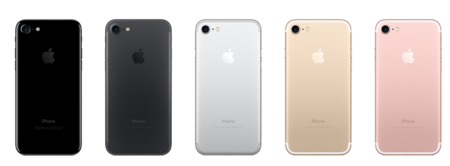 Colores iPhone 7