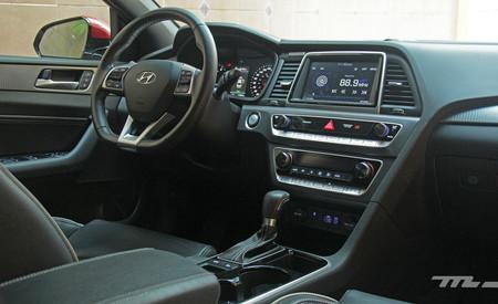 Hyundai Sonata Sport interior 2