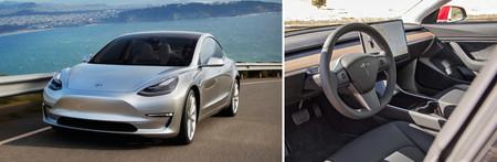 Evolución diseño coches Tesla Model 3