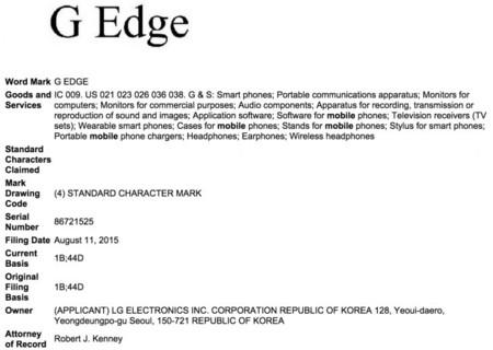 G Edge Trademark Lg