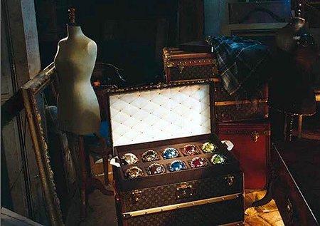 Un lujo de Navidad: decoración de Louis Vuitton