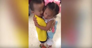 Eran mejores amigos en un orfanato en China, fueron adoptados y ahora son vecinos