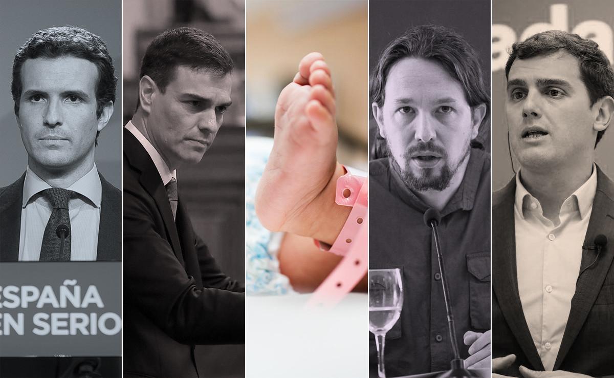 Natalidad y conciliación: qué proponen todos los partidos en sus programas para las elecciones de 2019