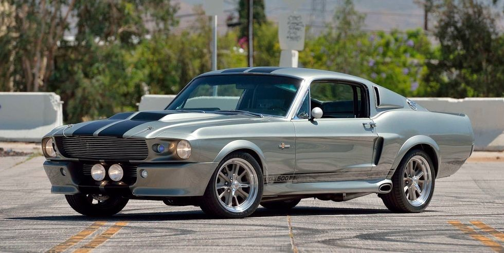 A subasta el Ford Mustang Eleanor, el pony car que volaba en las persecuciones de
