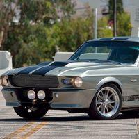 A subasta el Ford Mustang Eleanor, el pony car que volaba en las persecuciones de '60 segundos'