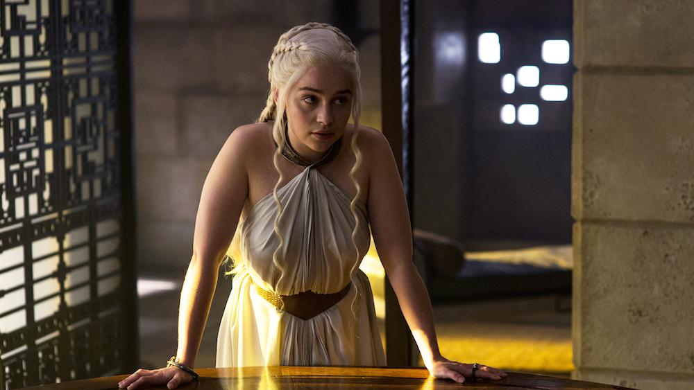 Foto de Daenerys Targaryen vestuario 5 temporada Juego de Tronos (1/7)