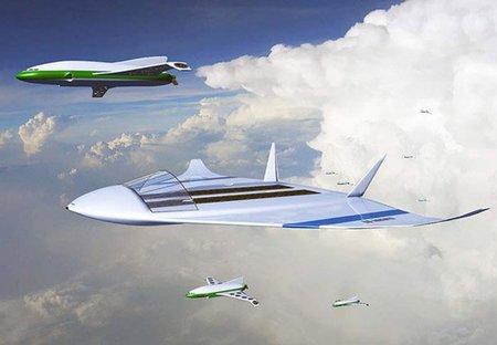 Airbone Metro, el aeropuerto volador...y nuclear