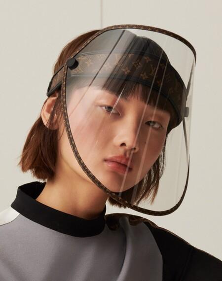 Escudo Facial Louis Vuitton Mascarilla