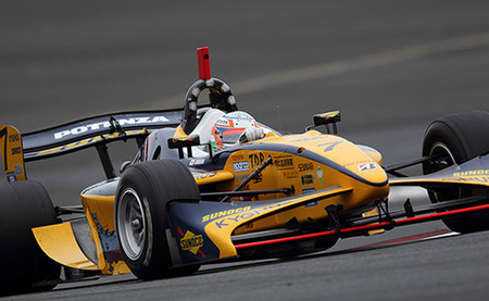 Narain Karthikeyan lidera el primer día de unas pruebas de la Super Fórmula en Fuji con nevada
