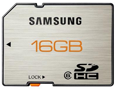 Nuevas tarjetas SDHC de Samsung resistentes a condiciones extremas