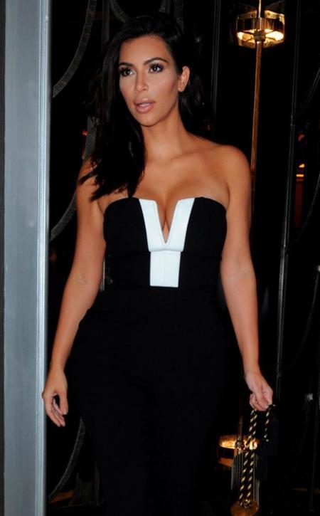 Kim Kardashian se apunta a la moda de los monos