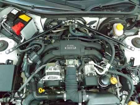 Motor Boxer Toyota GT86 2014