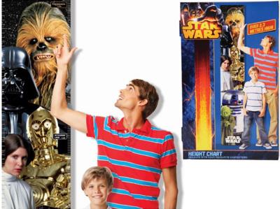 Medidor de altura para niños de Star Wars