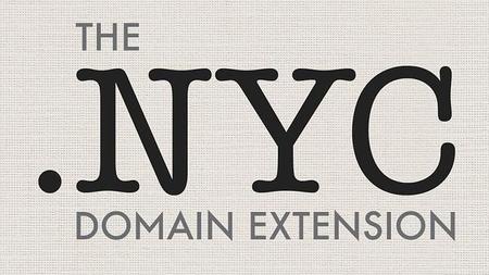 La ciudad de New York contará con su propio nombre de dominio