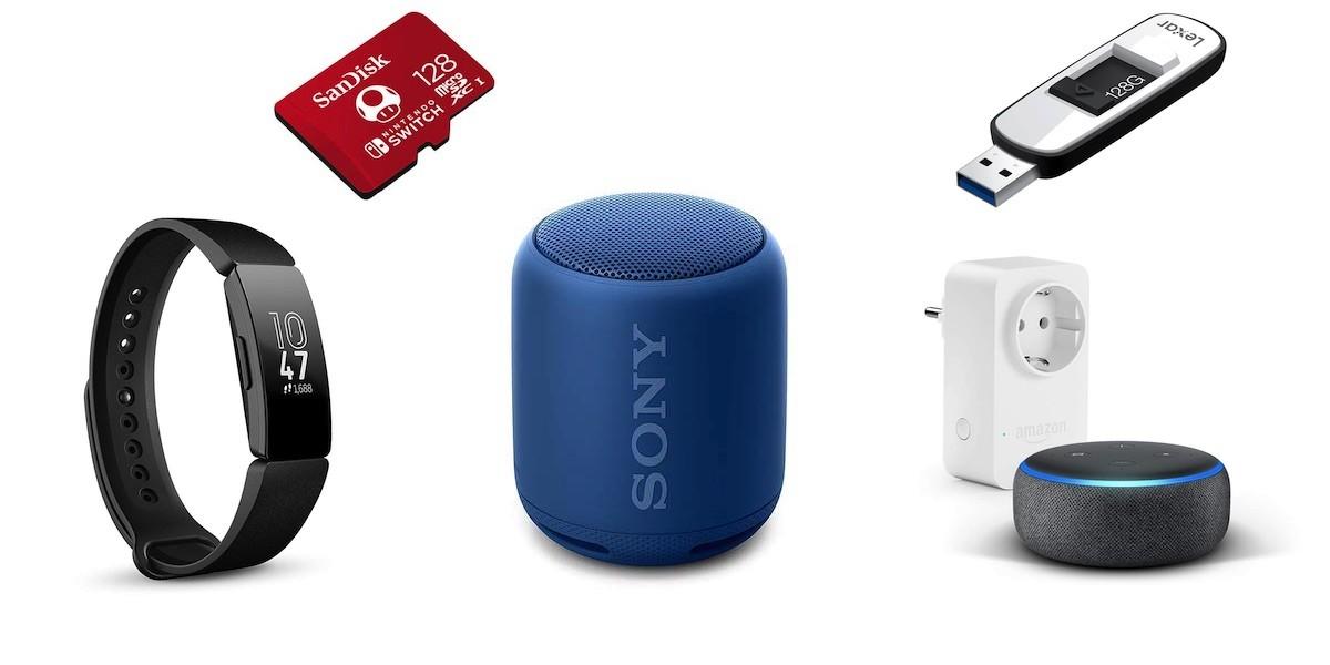 20 + 3 gadgets destacados por menos de 60 euros que están de oferta en el Amazon Prime Day 2019