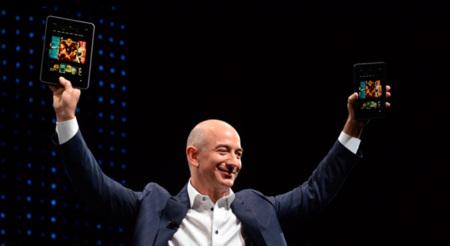 Jeff Bezos, CEO de Amazon en su papel de Steve Jobs