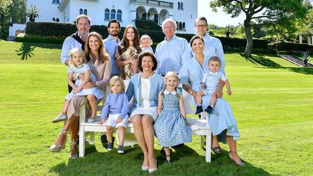 La Corona sueca se reduce al mínimo y deja fuera a cinco de los nietos del rey Carlos Gustavo