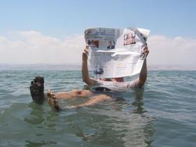 Flotar en el Mar Muerto y después darse un baño de lodo. Inolvidable experiencia en Israel