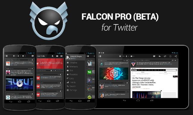 Falcon PRO Cliente de Twitter