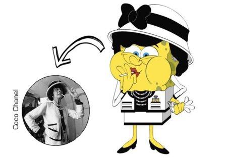 Coco Chanel  Bob Esponja