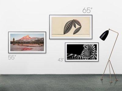 """Samsung añade una versión de 43 pulgadas a su línea de smart TV decorativos """"The Frame"""""""