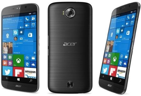 Acer Liquid Jade Primo, un terminal Windows 10 Mobile de gama alta pensado para Continuum