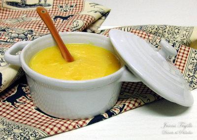 Orange curd. Receta