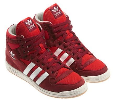 Adidas Originals Decade OG Mid Cardinal, rojo que te quiero rojo