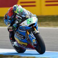 El líder de Moto2 recupera las sensaciones: Franco Morbidelli lidera los primeros libres en Assen