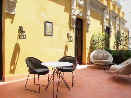 Terraza Hotel Le Palacete