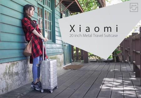 Trolley Xiaomi Metal Travel Suitcase por 165 euros con este cupón de descuento